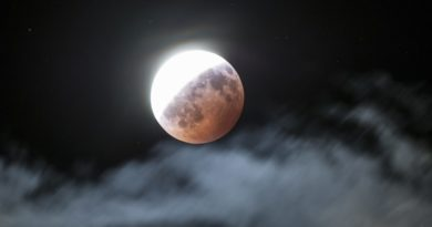 16 Juillet 2019 : Eclipse partielle de Lune