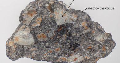 Une météorite lunaire à Cherbourg